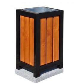 Kosz metalowo-drewniany kod: 151