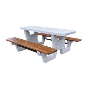 Betonowy stół parkingowy kod: 504B