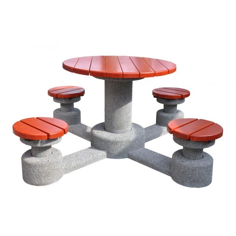 Betonowy stół parkingowy kod: 509