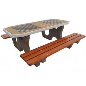 Betonowy stół do gry w szachy/chińczyka kod: 503