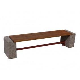 Ławka betonowa kod: 407