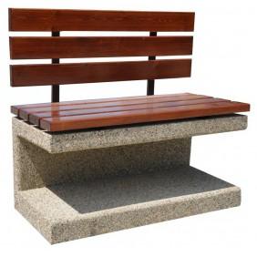 Ławka betonowa kod: 414