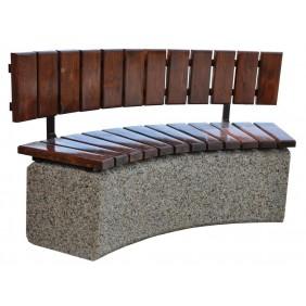 Ławka betonowa kod: 413