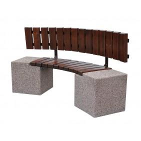 Ławka betonowa kod: 442