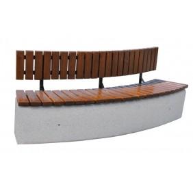 Ławka betonowa kod: 455