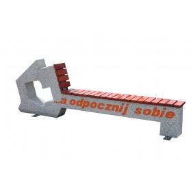 Ławka betonowa kod: 456