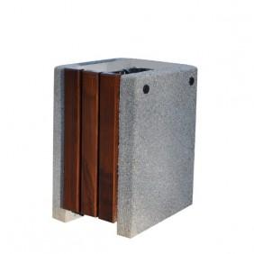 Kosz betonowo-drewniany kod: 152B