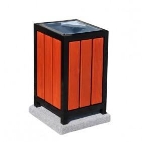 kosz metalowo-drewniany kod: 150