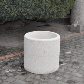 Donica betonowa okrągła