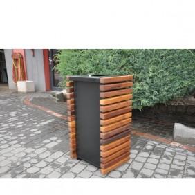 Kosz metalowo-drewniany kod: 159