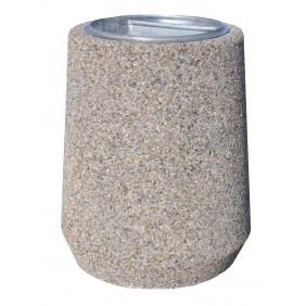 """Kosz betonowy """"Beczka"""" kod: 128"""