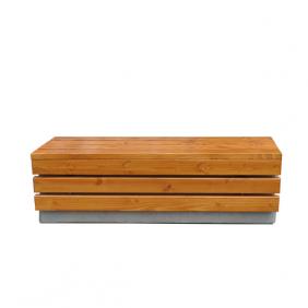 ławka z betonu architektonicznego