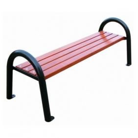 ławka metalowa