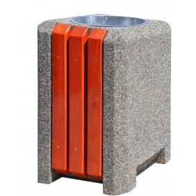 Kosz betonowo-drewniany kod: 139