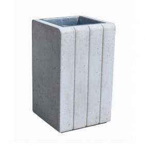 Kosz z betonu archit. 40l. kod: 164